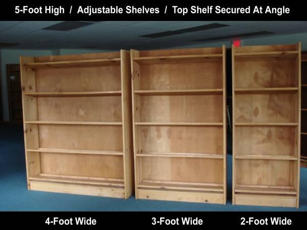 Custom Built Book Shelf Units
