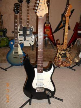 Custom built Fender Squire Stratocaster