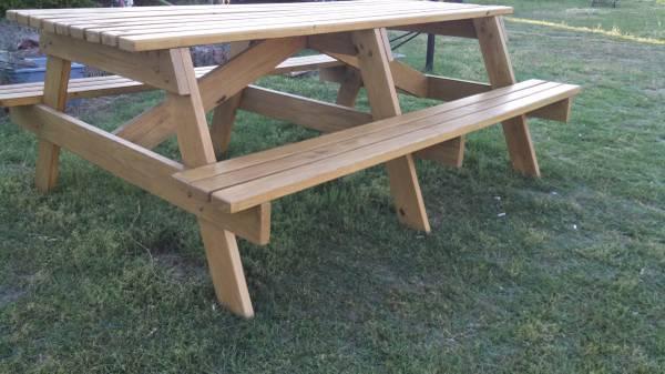 Custom Built Picnic Table 300