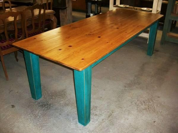 Custom-Built Wood Desk - $395