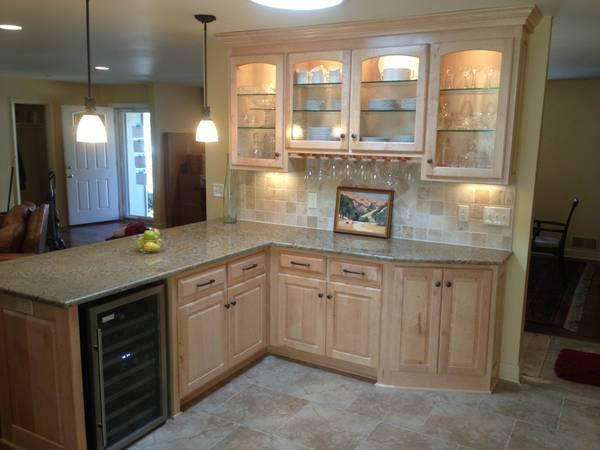 Custom cabinets cabinet lots of pics before after insured for Kitchen cabinets kansas city