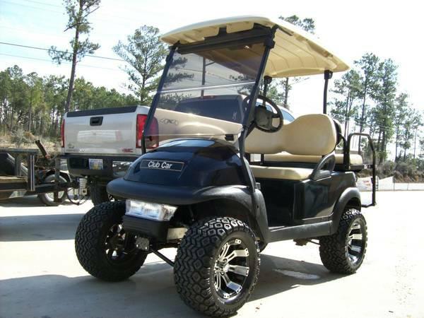 Custom Club Car Precedent 48 Volt Golf Cart For Sale In Cuevas