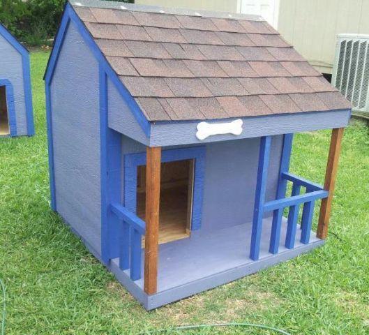 Custom dog houses for sale lookup beforebuying for Large custom dog houses