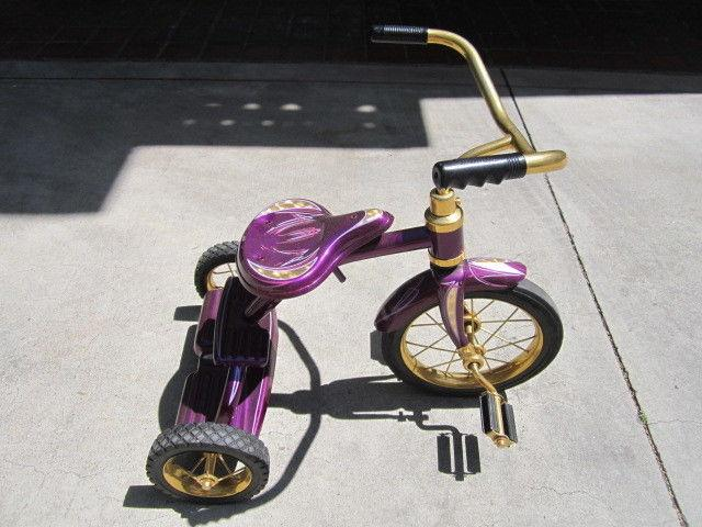 Custom Hand Painted Tricycle