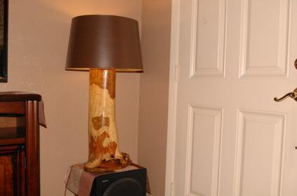 Custom Handcrafted Lamp
