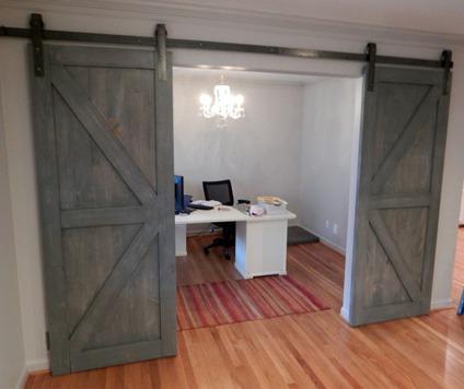 Custom Interior Sliding Barn Doors