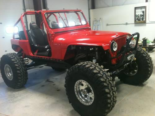 Custom Jeep Rock Crawler!