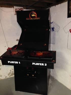 custom made arcade machine mortal kombat theme for sale in