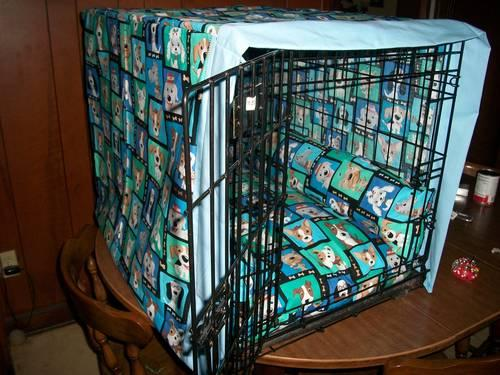 Custom Made Dog Clothes, Beds, and Crate covers