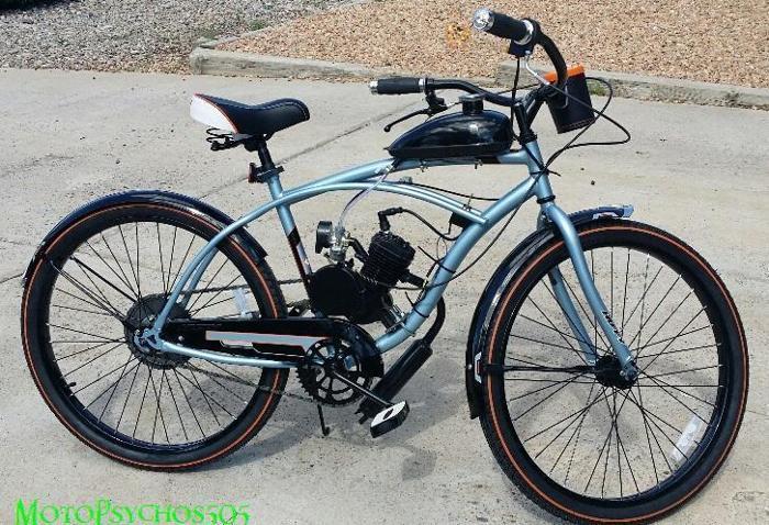 Custom Made Motorized Bikes 100 Mpg For Sale In