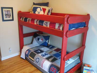 Custom Made Solid Wood Bunk Beds Lofts For Sale In