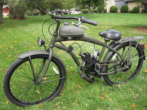 Bikes With Motors On Them Custom Motored Bicycles com
