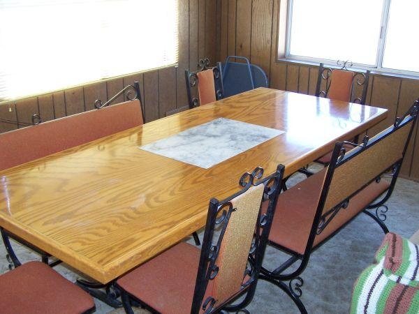 Custom Pine Dining Table Camp Verde Az For Sale In