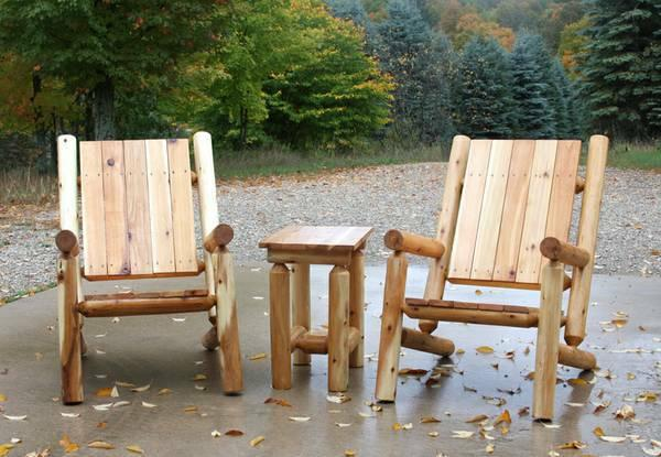 Custom Rustic Log Furniture And Other Items For Sale In
