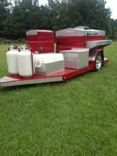 Custom South Carolina BBQ grill - $6500