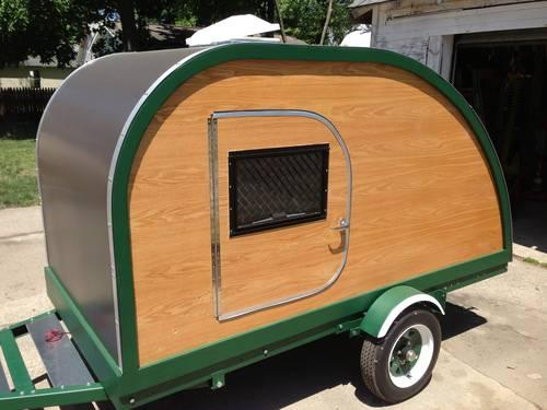 Custom Teardrop Camper Trailer