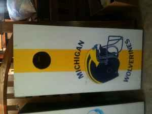 Custom Painted Cornhole boards - $75 (Canal Winchester)