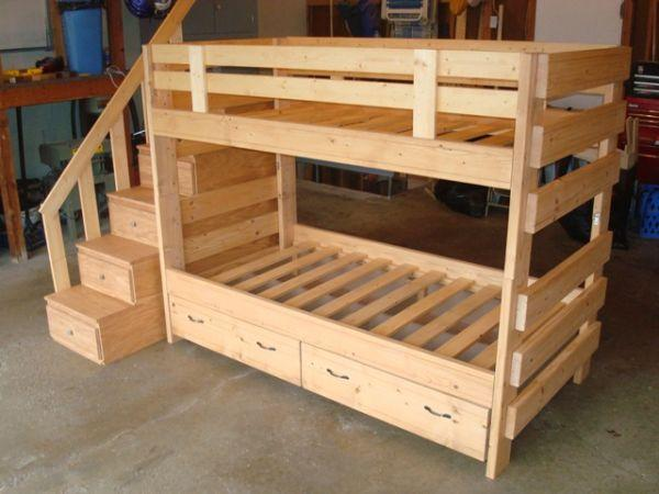 Custom wood bed frames (Mankato) for Sale in Marshall, Minnesota ...