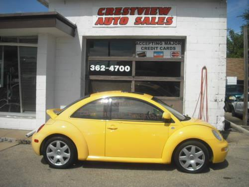 cute little yellow 2000 vw beetle turbo for sale in. Black Bedroom Furniture Sets. Home Design Ideas