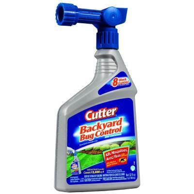 Cutter 32 fl. oz. Backyard Bug Control Spray Concentrate ...