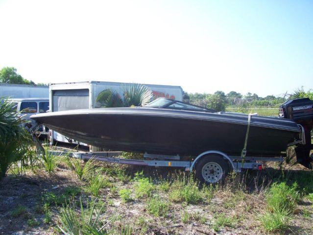 Cvheckmate 21 39 200 hp mercury trailer 21 foot 1994 for Mercury outboard motors for sale in florida