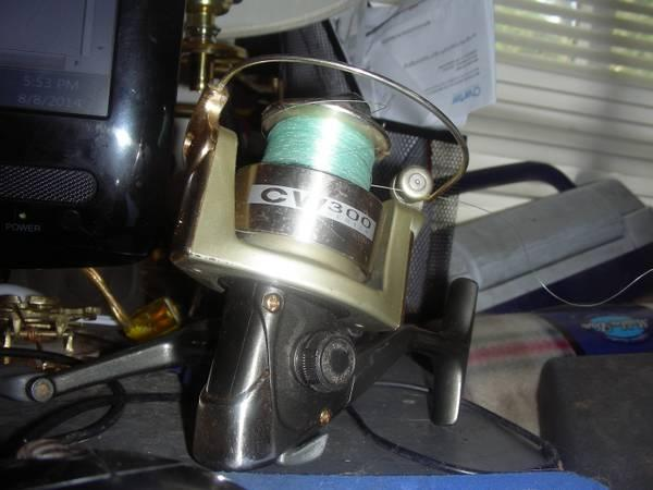 CW 300 Series Open Faced Fishing Reel - $5