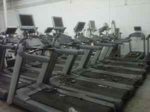 Cybex, Precor, Life Fitness, TechnoGym, Hammer