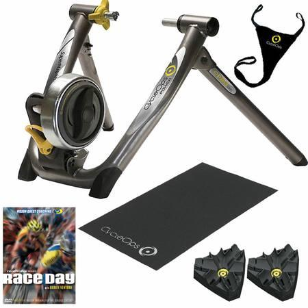 Cycleops Supermagneto Pro trainer with extras - $300