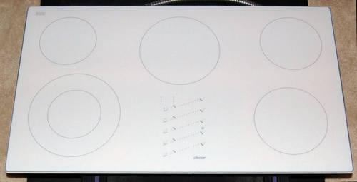 Dacor Electric Cooktop 36 Smoothtop