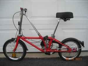 DAHON CALIFORNIA STOW AWAY 3 SPEED FOLDAWAY BICYCLE BIKE ...