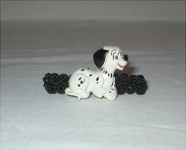 Dalmatian Hair Barrette