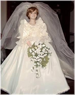 Danbury Mint Princess Diana Bride Doll: Commemorative Edition for ...