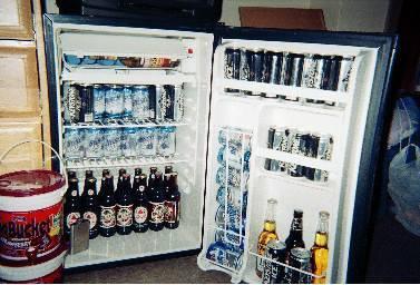 Danby 4.3 cubic foot mini-fridge - $100