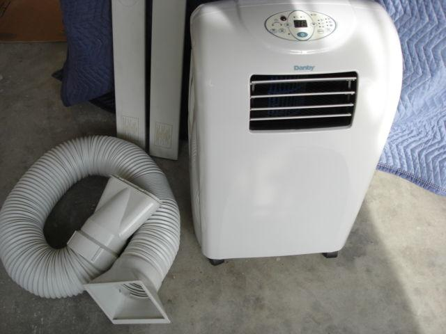 Danby Portable Air Conditioner With Window Attachments