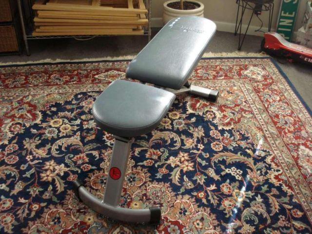 Danskin Space Saver Weight Bench For Sale In Bridgeport