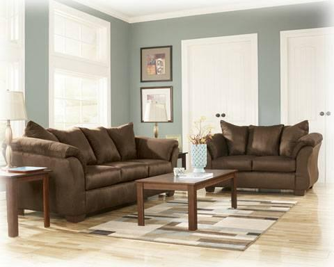 darcy cafe living room set ashley furniture brand new
