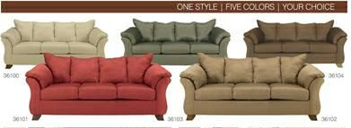 Fine Darcy Sofa By Ashley Many Colors For Sale In Yreka Cjindustries Chair Design For Home Cjindustriesco