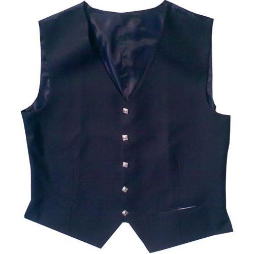 Dark blue argyll kilt jacket waistcoat