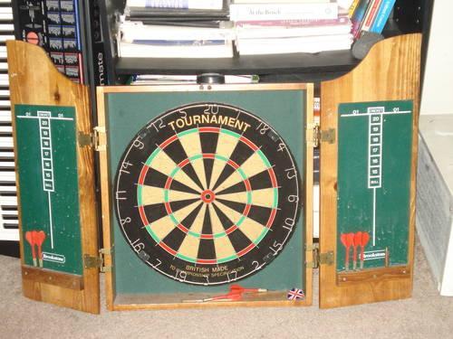 Dartboard Cabinet For Sale For Sale In Darnestown, Maryland