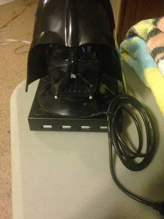Darth Vader USB Port-4 - $25