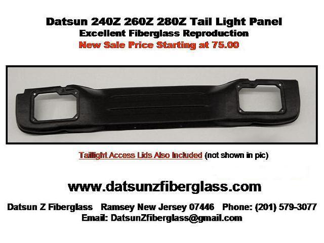 Datsun 240Z 260Z 280Z Interior Tail Light Cover – NEW