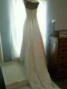 David S Bridal Dress Ct2406 Reduced Price