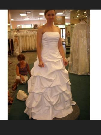 David\'s Bridal Style T9309 Wedding Dress - for Sale in Houston ...