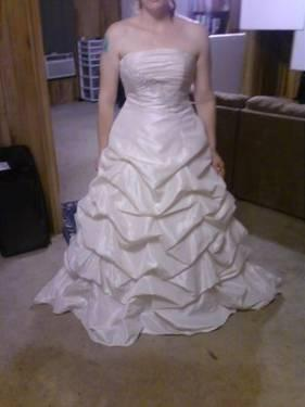 David S Bridal Wedding Dress Size 12 For Sale In Fort