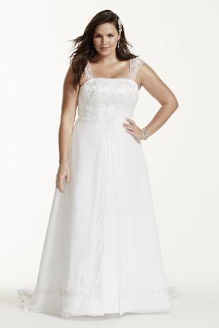 David 39 s bridal wedding dress size 22w for sale in palmyra for Wedding dress preservation nyc