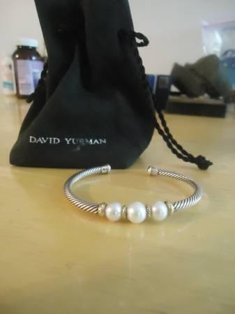 David Yurman Pearl Bracelet - $350
