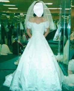 Davids Bridal Wedding Dress Vail Tiara Slip Incd