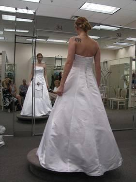 Davids Bridal Bridesmaid Dress Style 8567 Marine Classifieds