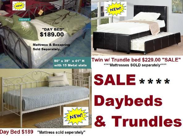 Day BEDS & TRUNDLE BED ►Sale