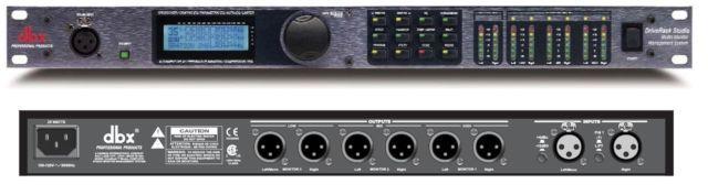 Dbx Driverack Studio Monitor Speaker Management